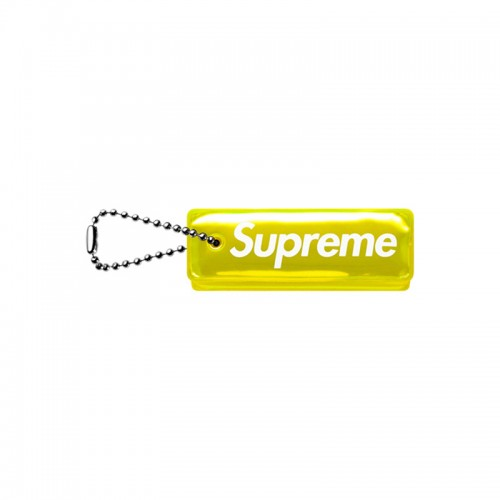 [Supreme] Reflective Puffy Keychain (Yellow)