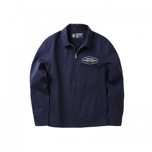 COTTON JACKET - NAVY