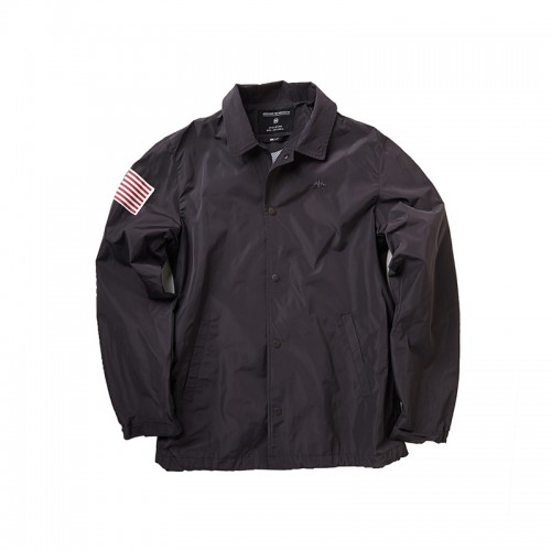 COACH JACKET (AE-A012) - CHARCOAL