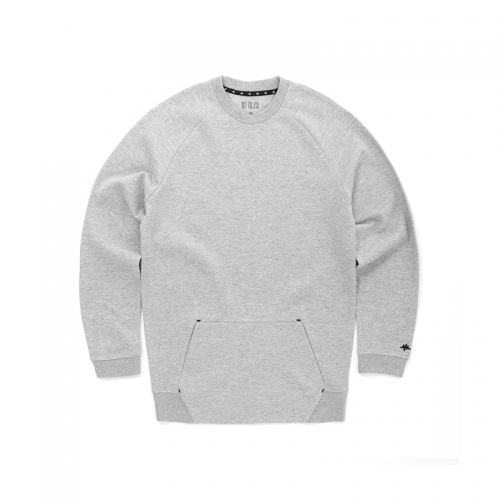 POCKET CREW SWEAT - GRAY (AE-C029)