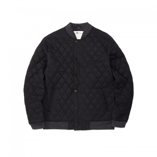QUILT JACKET (AE-C043) - BLACK