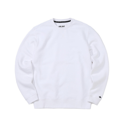 BASE CREW SWEAT(AF-D044) - WHITE