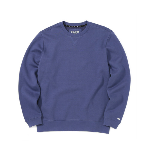 BASE CREW SWEAT(AF-D044) - BLUE