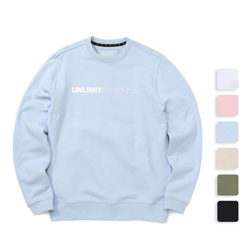 POTENTIAL CREWNECK (U17ATTS01)(6color)