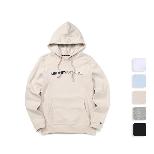 POTENTIAL HOOD (U17ATHD04)(5color)