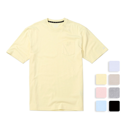 O'POCKET TEE (U17BTTS21)(7color)