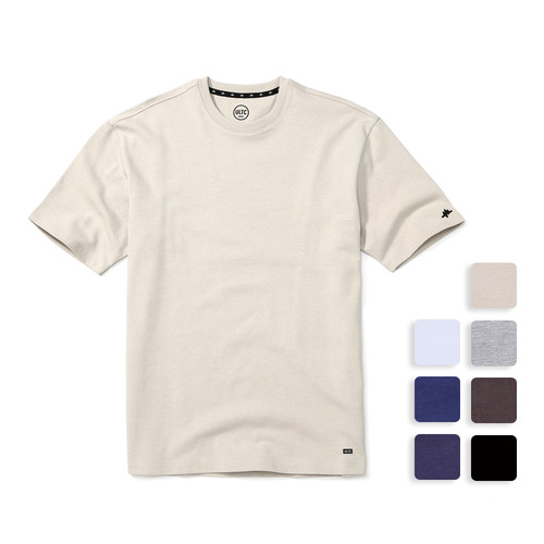 BASE TEE (U17BTTS26)(7color)