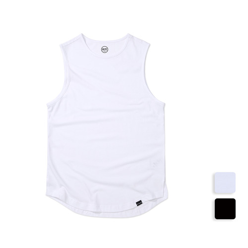 SLEEVELESS TEE (U17BTTS06)(2color)