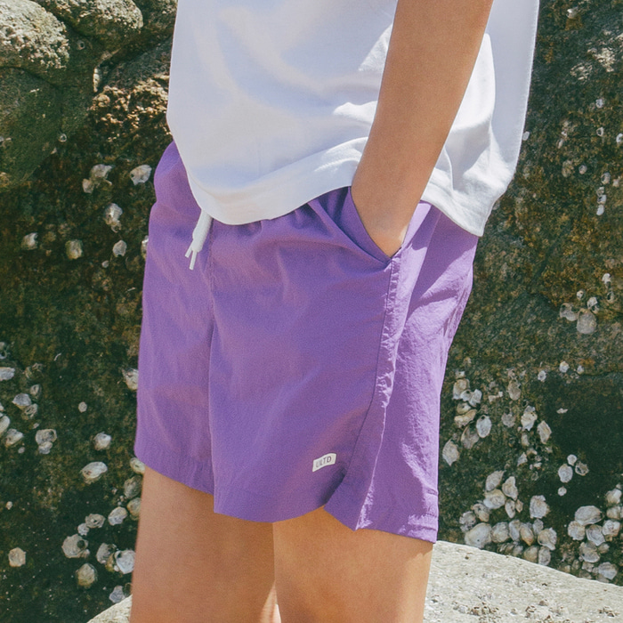 WS SHORTS (U18BBPT07)(Purple)