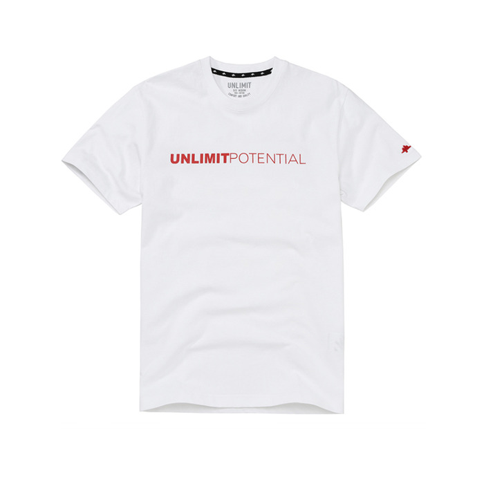 POTENTIAL TEE VER.4 (AF-B011) - WHITE/RED