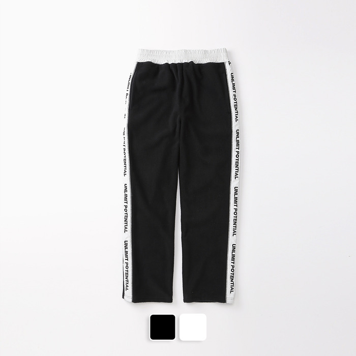Line Fleece Pants (U19DBPT52)