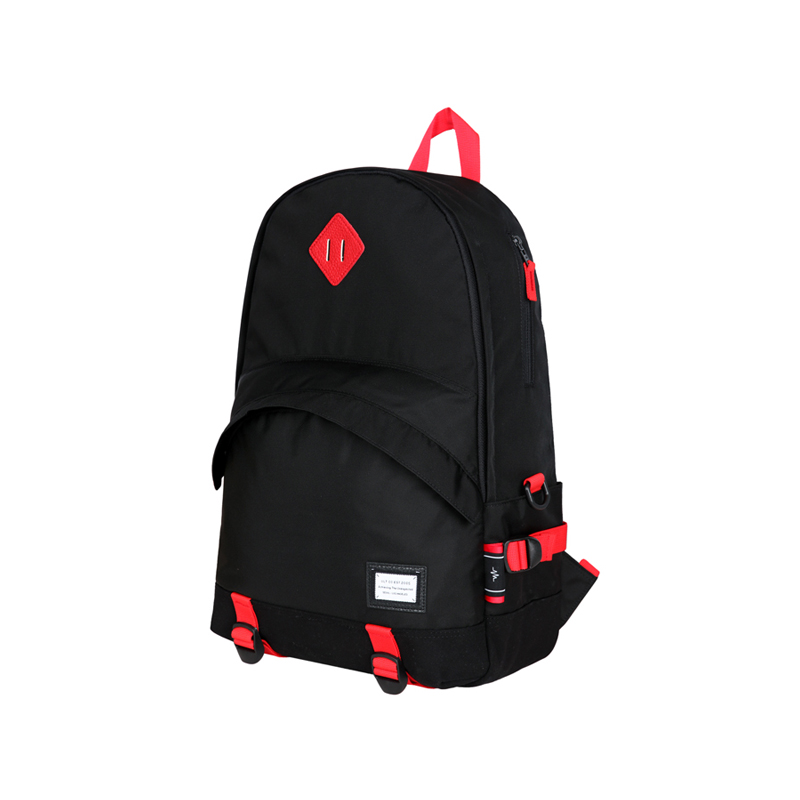 BASE BAG - BLACK/RED