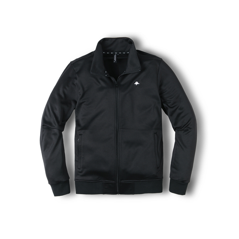 BASE TRACK JACKET - BLACK