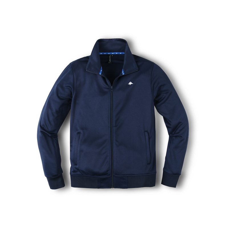BASE TRACK JACKET - NAVY