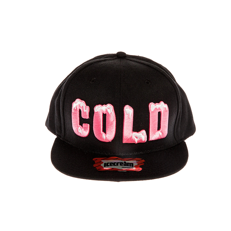 [Ice Cream] COLD SNAPBACK - Black