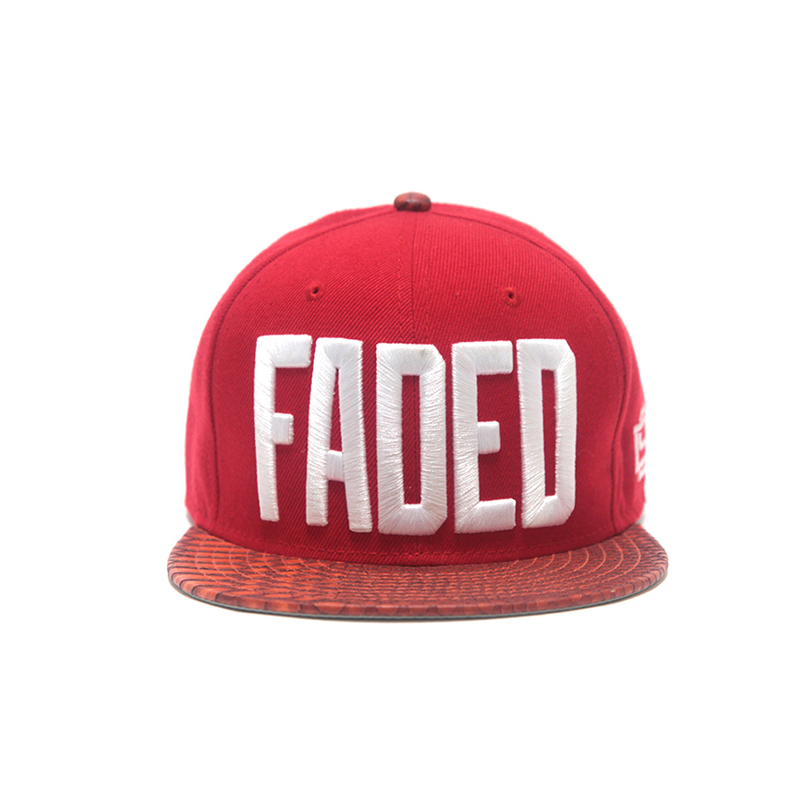 [D9 Reserve] FADED STRAPBACK - Red