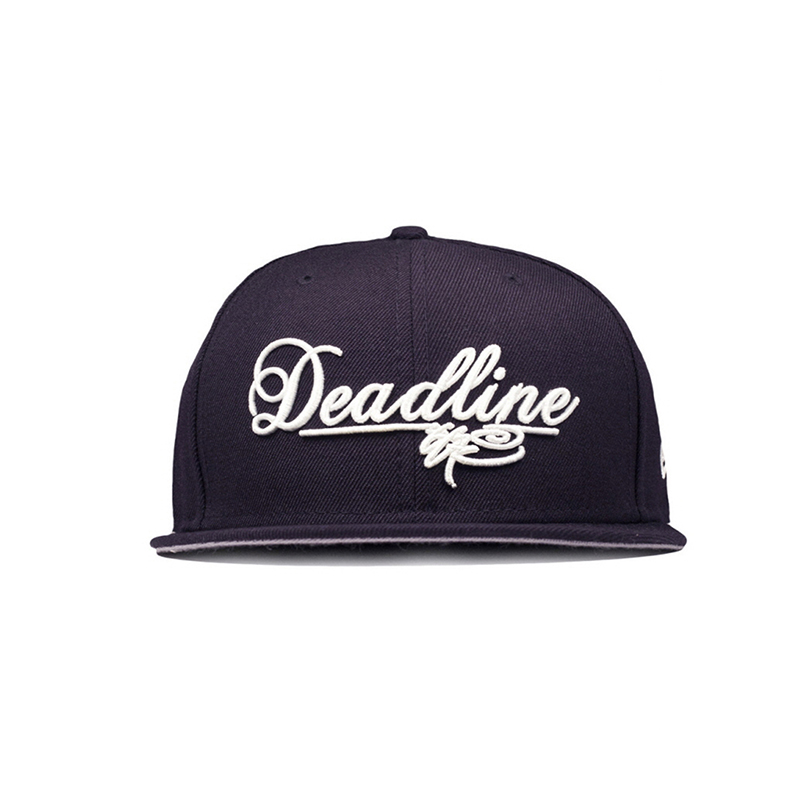 [DEADLINE X SSUR] SCRIPT LOGO NEW ERA FITTED - Navy