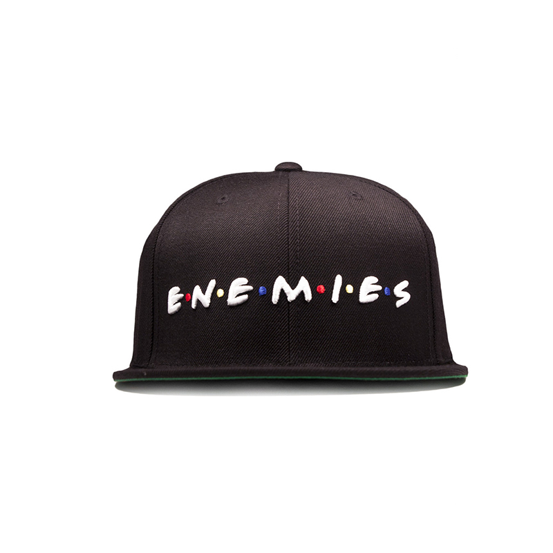 [DEADLINE X SSUR] ENEMIES SNAPBACK - Black
