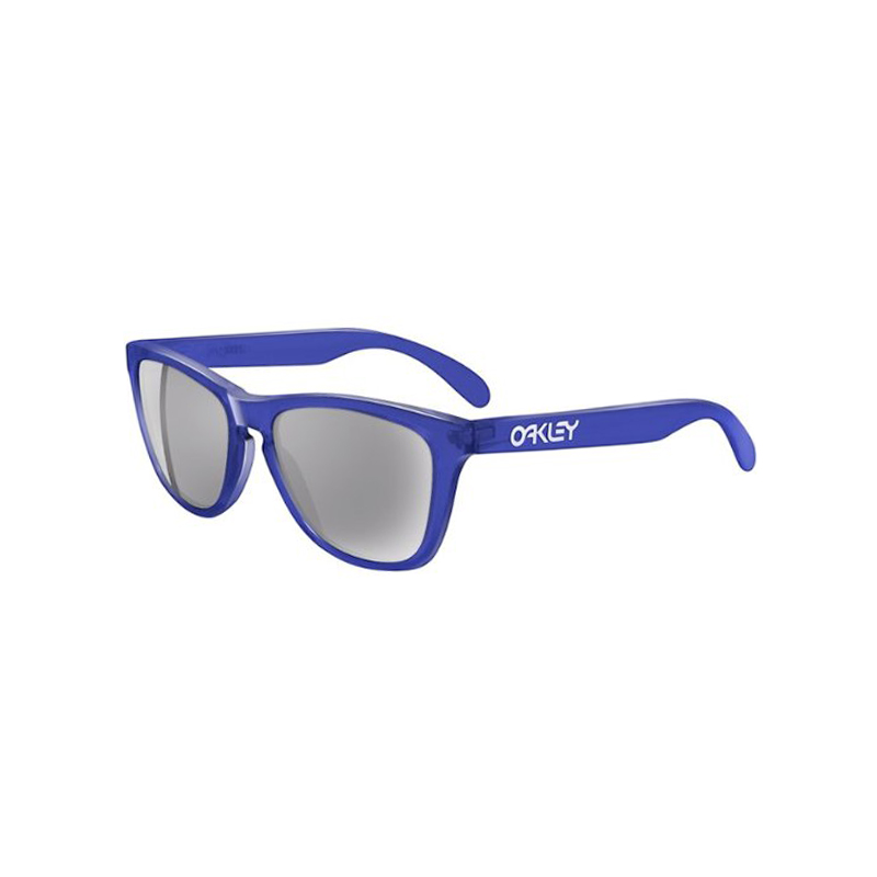 [OAKLEY] FROGSKINS - Crystal Blue/Grey Lens